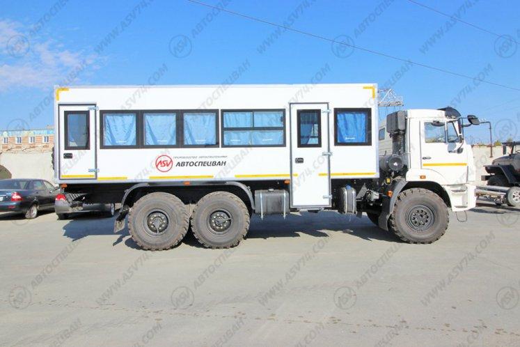 Фото: Вахтовый автобус АСВ 7721 КАМАЗ 43118-3027-50, 28 мест