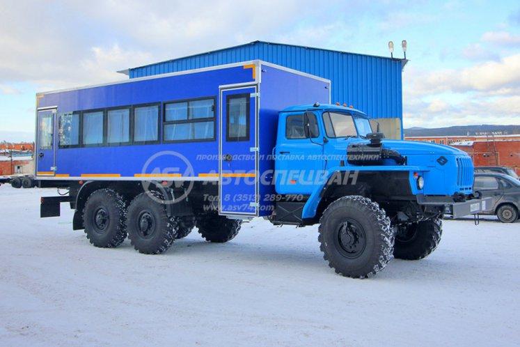 Фото: Вахтовый автобус Урал 4320-1912-40, 28 мест