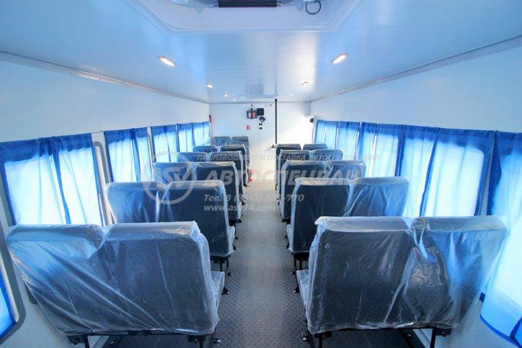 Фото: Вахтовый автобус Урал 4320-4971-80, 28 мест с грузовым отсеком