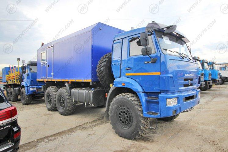 Фото: Паропромысловая установка ППУ 1600/100 на шасси КАМАЗ 43118-3027-50
