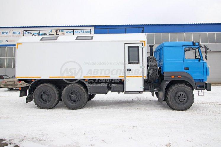 Фото: Транспортно-бытовой автомобиль (ТБМ) Урал 4320-4972-80Е5