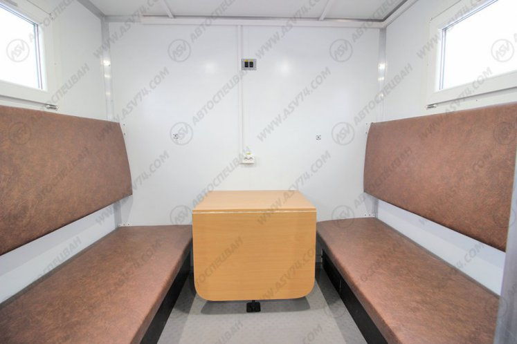 Фото: Передвижная мастерская АСВ КАМАЗ 43118-3027-50 с жилым отсеком