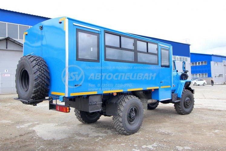 Фото: Вахтовый автобус Урал 32552-0013-61М, 20 мест