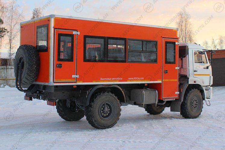 Фото: Вахтовый автобус АСВ 7721 КАМАЗ 43502-3026-45, 22 места