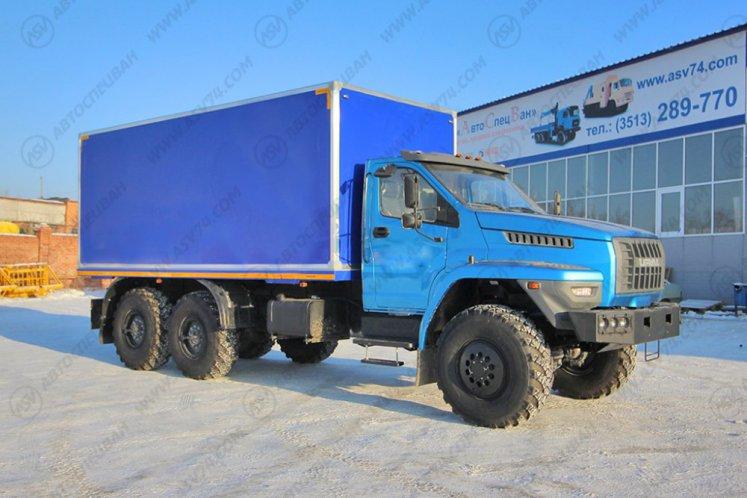 Фото: Изотермический фургон Урал-NEXT 4320-6952-72(Е5)Г38