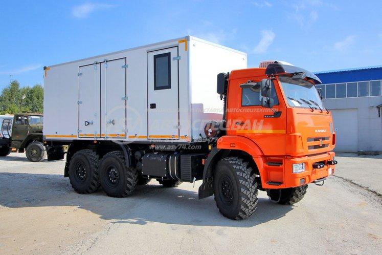 Фото: Автомобиль для взрывчатых веществ КамАЗ 43118-3027-50