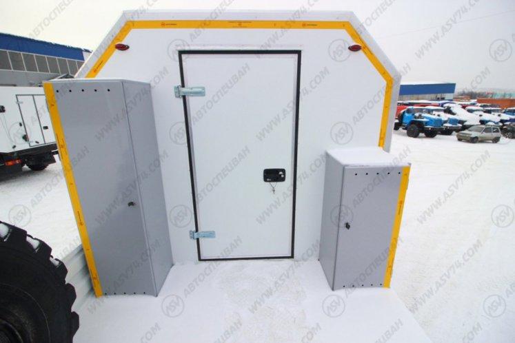 Фото: Агрегат для ремонта и обслуживания качалок КамАЗ 43118-3027-50 с КМУ ИМ-150
