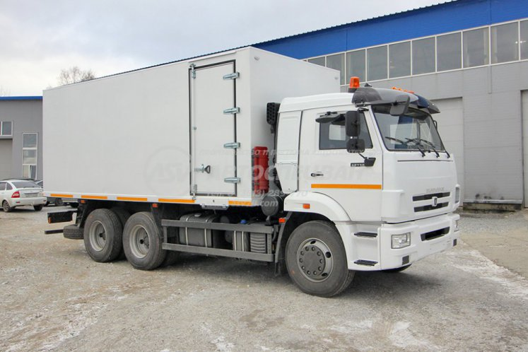 Фото: Автомобиль для взрывчатых веществ КамАЗ 65115