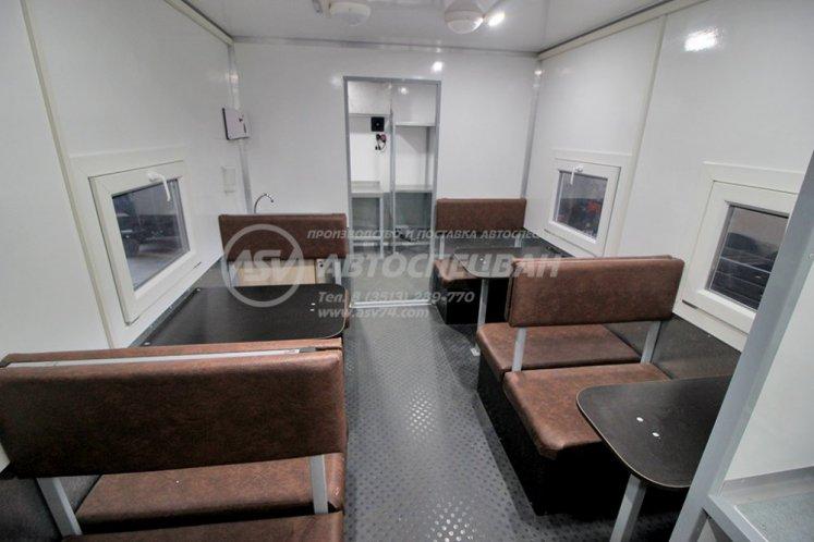 Фото: Передвижная столовая (14 мест) на шасси КамАЗ 43118-3027-50