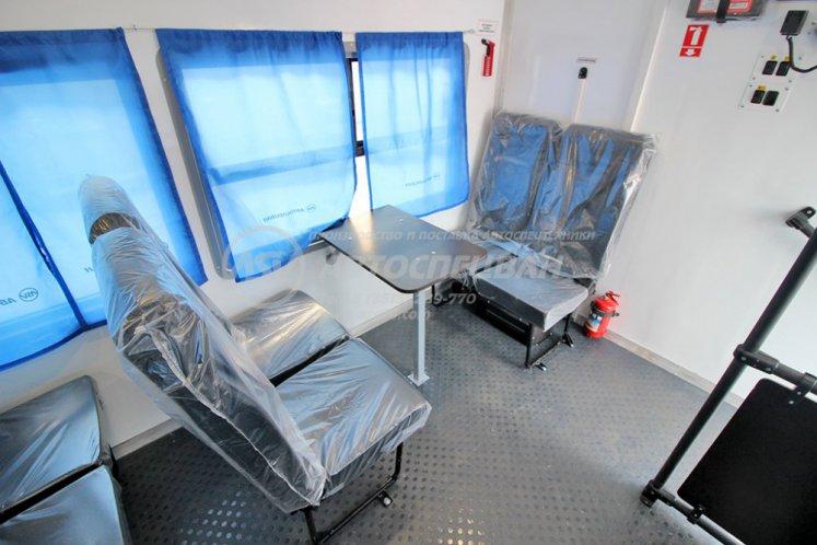 Фото: Вахтовый автобус с грузовой платформой Урал 4320-6952-72 NEXT, 16 мест