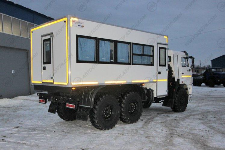 Фото: Вахтовый автобус КАМАЗ 43118-3027-50, 22 места