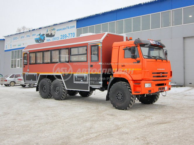 Фото: Вахтовый автобус КАМАЗ 43118-3086-50, 32 места