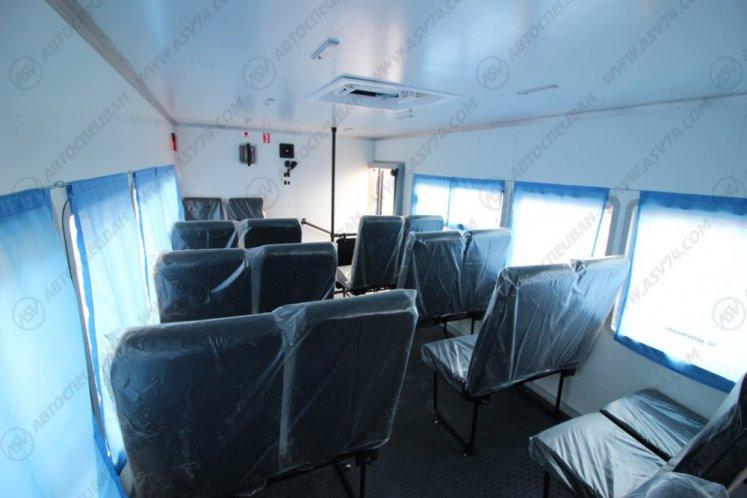 Фото: Вахтовый автобус КАМАЗ 43118-3027-50, 20 мест