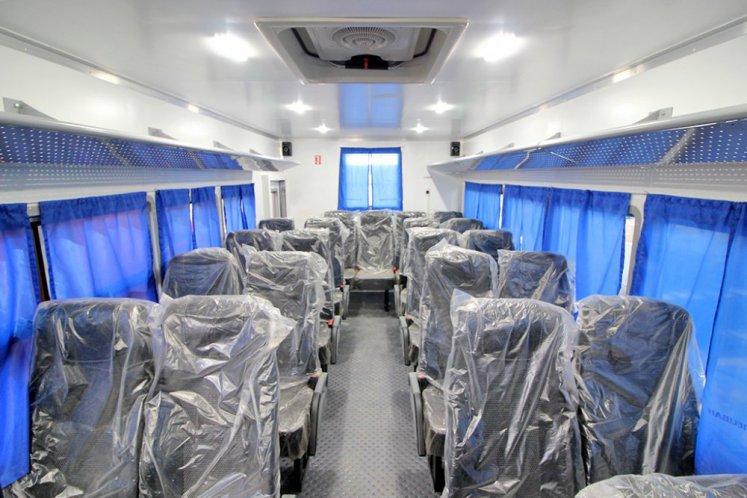 Фото: Вахтовый автобус Iveco EuroCargo MLC210E28W, 26 мест