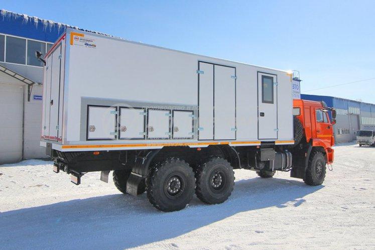 Фото: Агрегат ремонтно-сварочный (АРС) КамАЗ 43118-3027-50