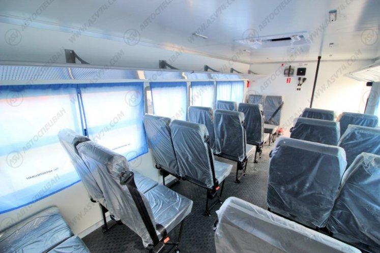 Фото: Вахтовый автобус КАМАЗ 43502-3036-66, 20 мест