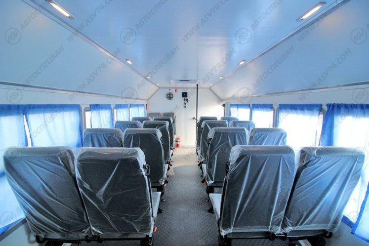 Фото: Вахтовый автобус Урал 4320-4972-80, 24 места с грузовым отсеком