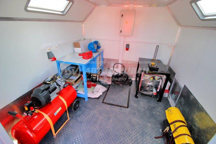Фото: Агрегат для ремонта и обслуживания качалок АРОК КамАЗ 43118-3027-50 с КМУ Palfinger 13.501