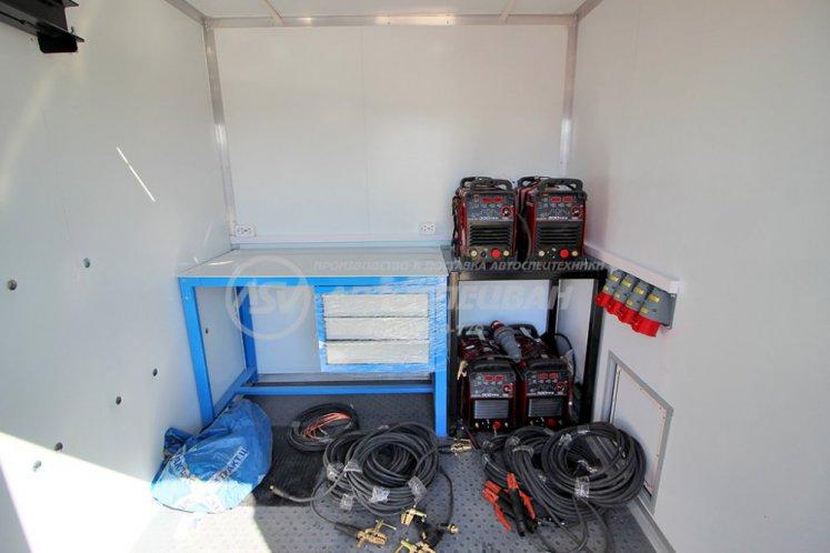 Фото: Агрегат ремонтно-сварочный (АРС) Урал NEXT 4320-6952-72