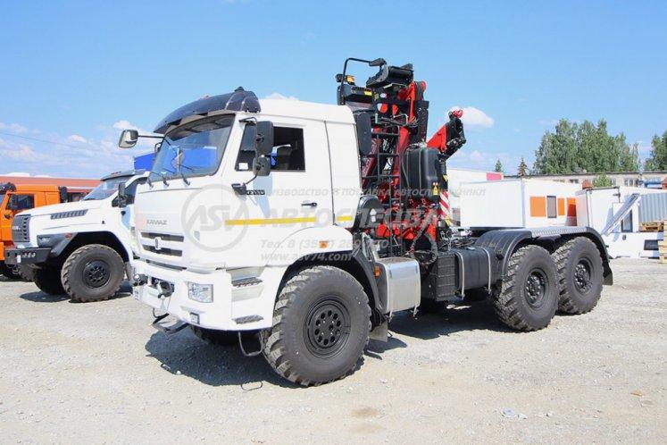 Фото: Седельный тягач Камаз 43118-50 с КМУ Fassi F115A.0.22