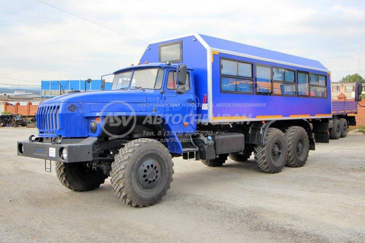 Фото: Вахтовый автобус Урал 4320-1912-60, 28 мест (ЖД Габарит)