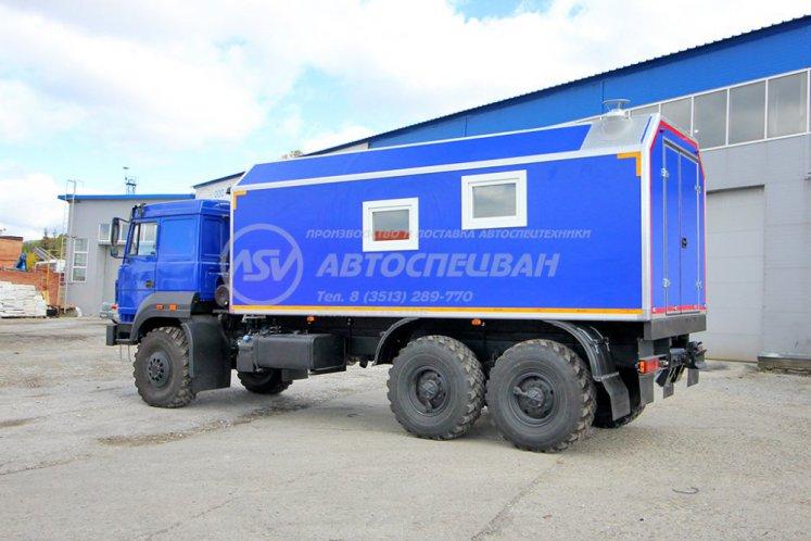 Фото: Транспортно-бытовой автомобиль ТБМ Урал 4320-4972-80