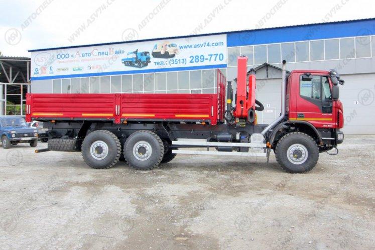 Фото: Бортовой автомобиль IVECO EuroCargo MLL210E28WS с КМУ Palfinger 18500A