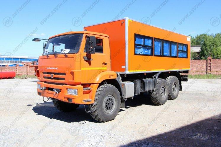 Фото: Вахтовый автобус КАМАЗ 43118-3011-50, 24 места