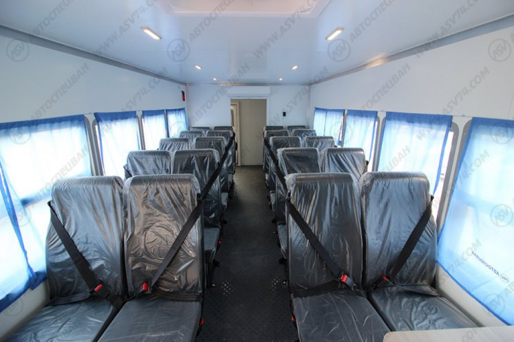 Фото: Вахтовый автобус Урал 4320-1912-60, 20 мест с грузовым отсеком
