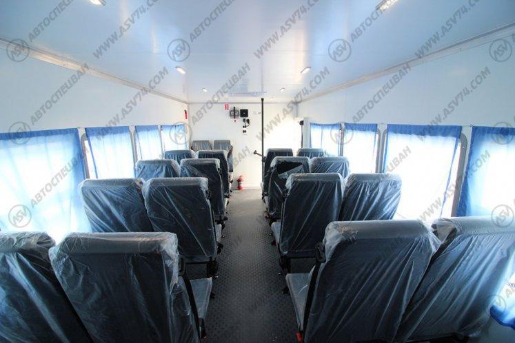 Фото: Вахтовый автобус АСВ7721N1 Урал 4320-1912-60, 22 места с грузовым отсеком