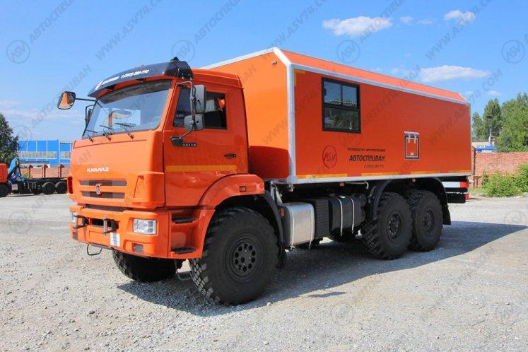 Фото: ГПА Камаз 43118-3027-50 с грузовым отсеком