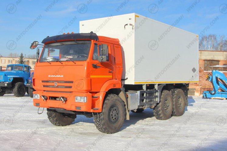 Фото: Изотермический фургон КамАЗ 43118-3027-50