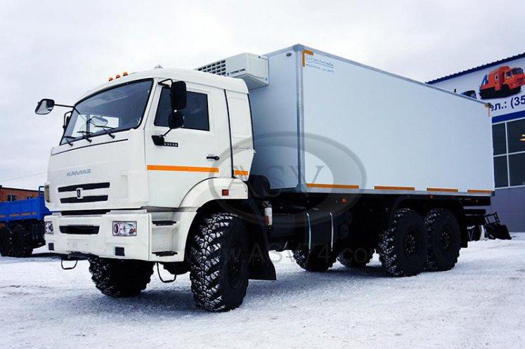 Фото: Изотермический Фургон на шасси КАМАЗ 43118 (Рефрижератор)