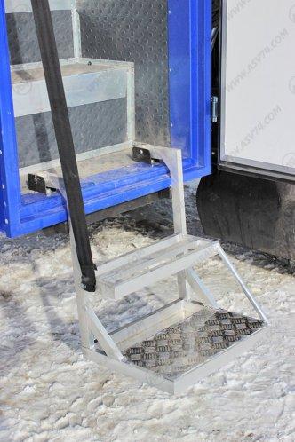 Фото: Передвижная мастерская ПАРМ Камаз 43118-3017-46 с бортовой платформой и КМУ