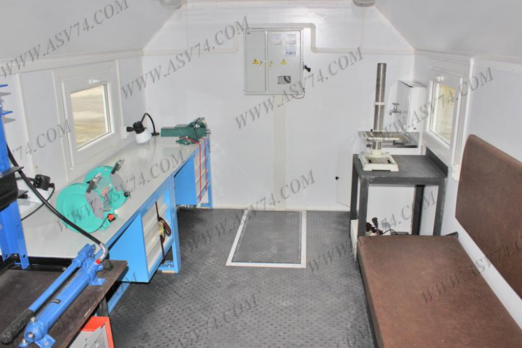 Фото: Передвижная мастерская ПАРМ КамАЗ 43118RF без токарного станка