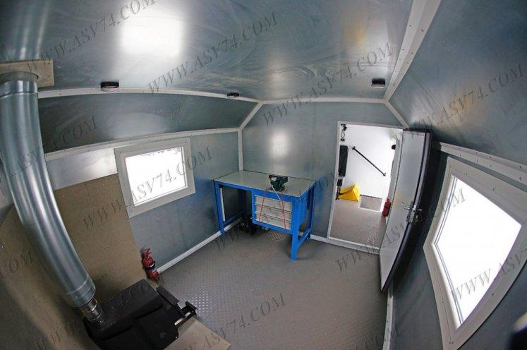 Фото: Транспортно-бытовой автомобиль Урал 4320-1112-71М с отсеком для перевозки людей