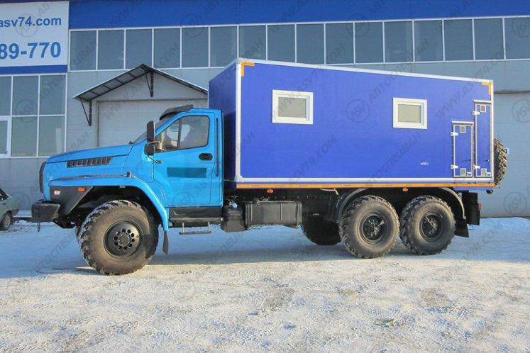 Фото: ПАРМ АСВ 7722G4-10 Урал-NEXT4320-6952-72(Е5)Г38 с отсеком для перевозки людей