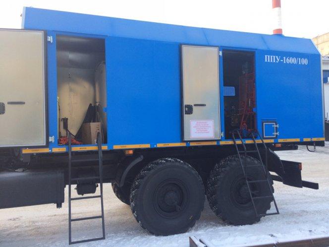 Фото: Паропромыловая установка ППУ на шасси УРАЛ-NEXT