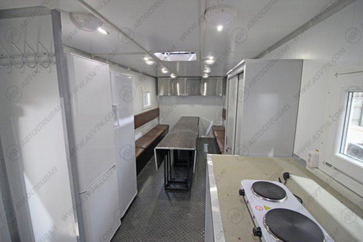 Фото: Передвижная столовая (16 мест) на шасси КамАЗ 43118-3027-50
