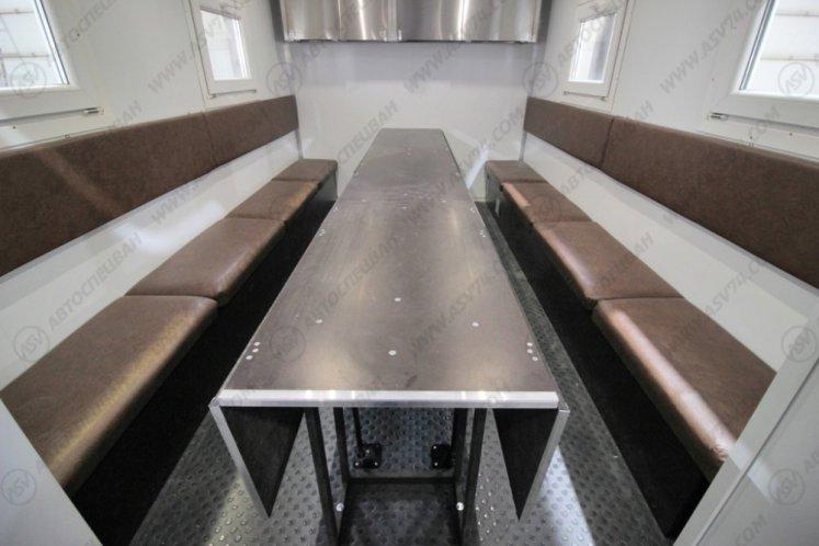 Фото: Передвижная столовая на шасси КамАЗ 43118-3027-50