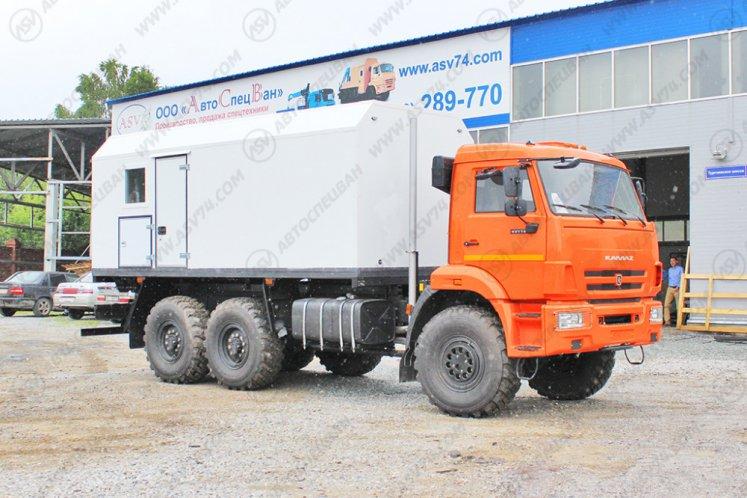 Фото: Паропромысловая установка ППУ 1600/100 на шасси КАМАЗ 43118