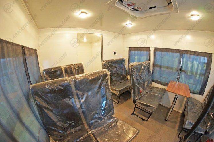 Фото: Вахтовый автобус с грузовым отсеком КАМАЗ 43502-3026-45, 10 мест