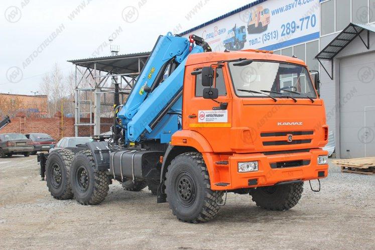 Фото: Седельный тягач КАМАЗ 43118-46 (53504-46) с КМУ ИМ-180