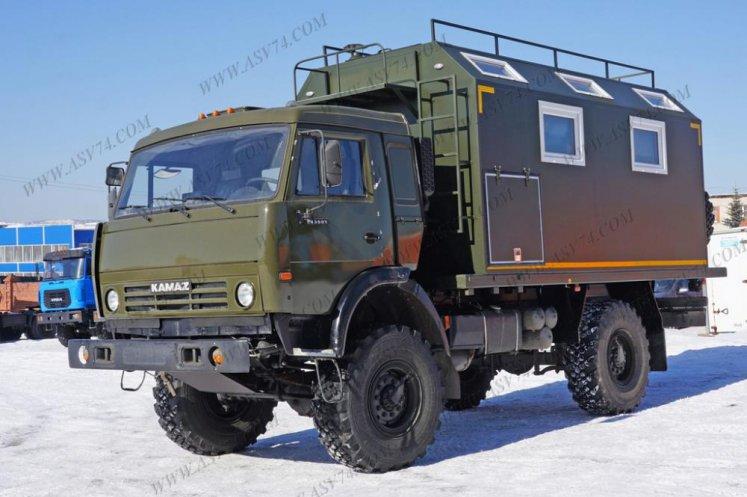 Фото: Автомобиль для охоты Камаз 43501