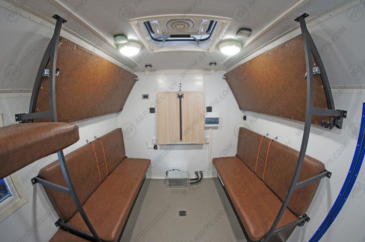 Фото: Транспортно бытовой автомобиль ТБМ на шасси КАМАЗ 4310