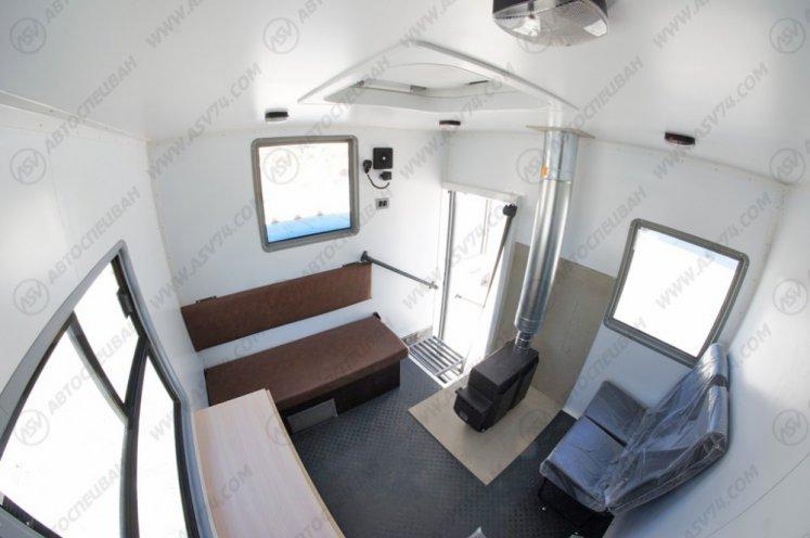 Фото: Транспортно-бытовой автомобиль ТБМ Урал 4320-1112-71М с бортовой платформой