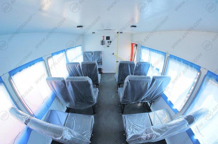 Фото: Вахтовый автобус КАМАЗ 43118-3027-46, 18 мест (кат. D)