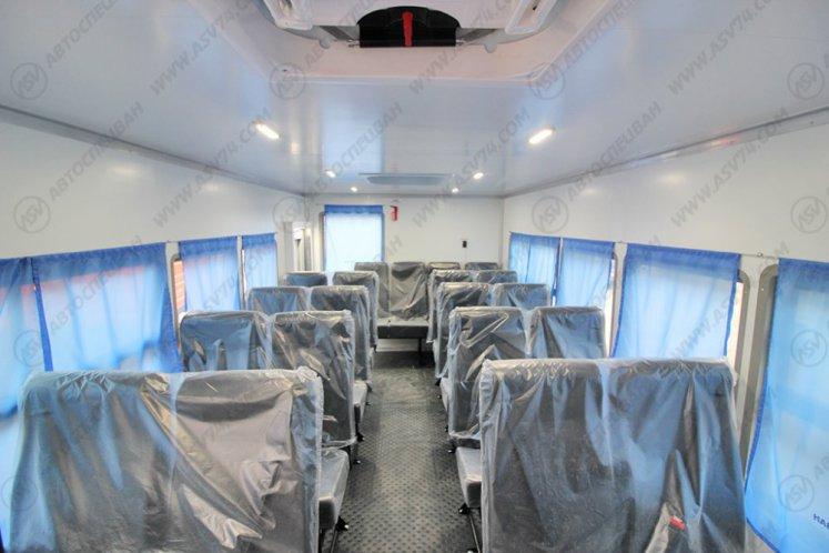 Фото: Вахтовый автобус АСВ 7721 КАМАЗ 43118-3011-50, 22 места (наличие)