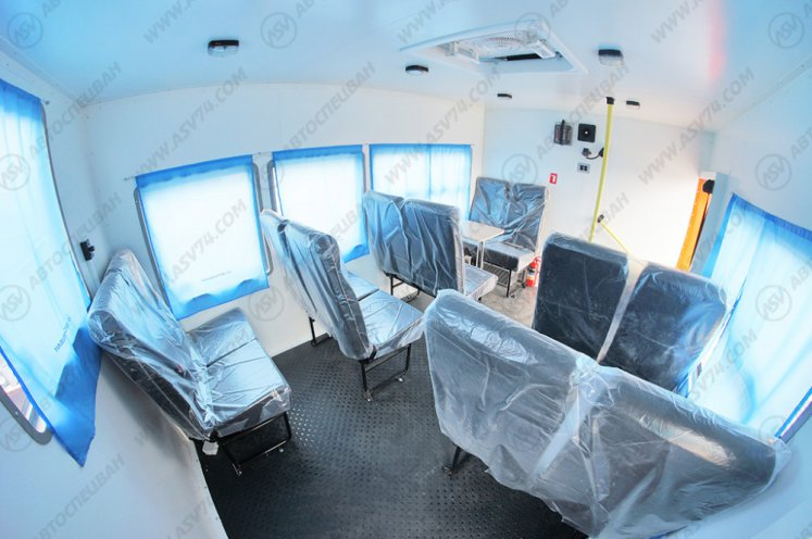 Фото: Вахтовый автобус АСВ 7721 КАМАЗ 43118-3027-46, 12 мест (кат. D)