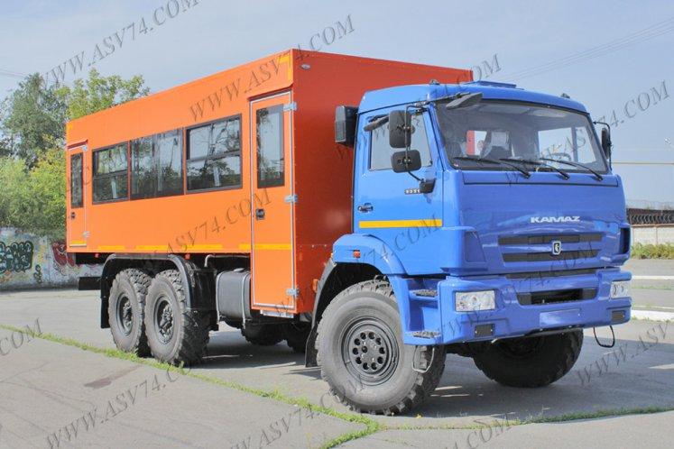 Фото: Вахтовый автобус КАМАЗ 5350-3061-42, 28 мест